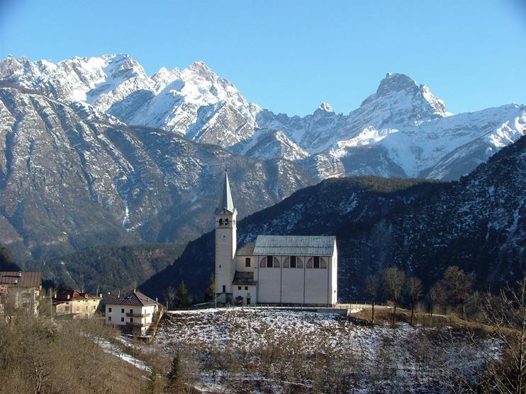 Valle di Cadore (Bl), Chiesa di San Martino.