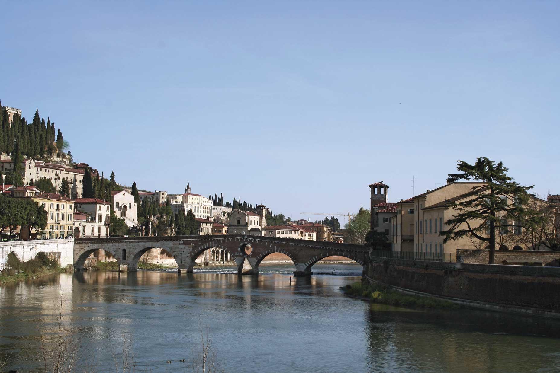 Verona, Ponte Pietra.