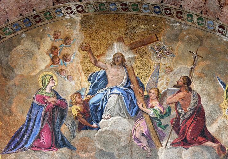 Venezia, Basilica di San Marco, Mosaici.