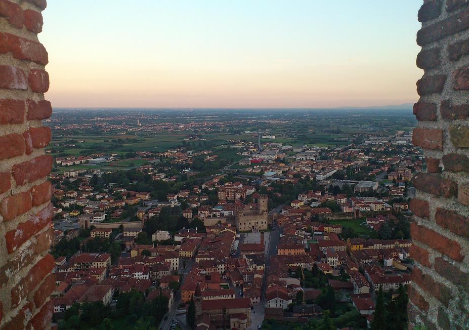 Marostica (Vi), Vista dal Castello Superiore.