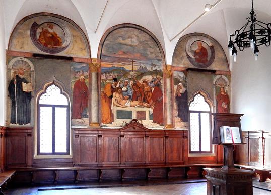 Teolo (Pd), Abbazia di Praglia, Sala del Capitolo.