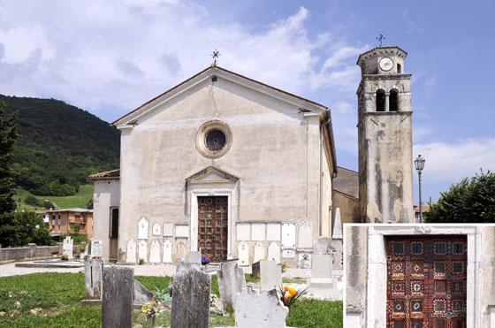 Sarmede (Tv), località Rugolo, Chiesa di San Giorgio.