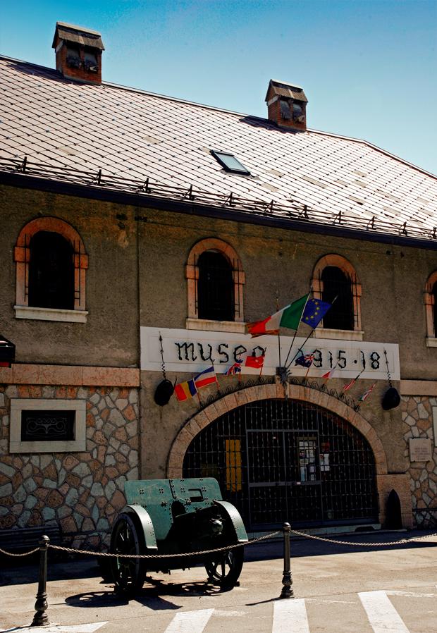 Altopiano di Asiago (Vi), Canove di Roana, Museo della Grande guerra.