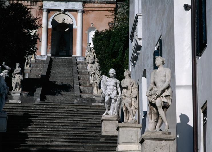 Monselice (Pd), Villa Nani Mocenigo.