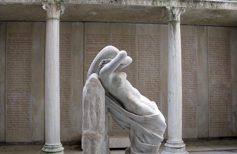 Ca' Giustinian dei Vescovi (Ve), Sacrario della Niobe.