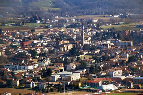 Pieve di Soligo (Tv), Panorama dall