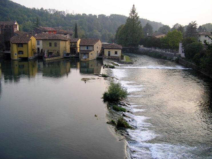 Valeggio sul Mincio (Vr), Località Borghetto.