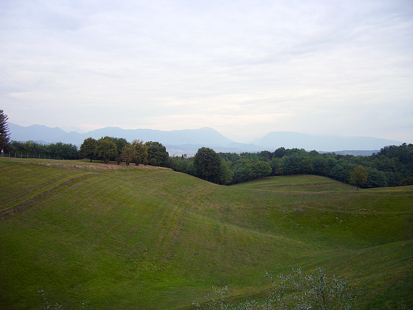 Il Montello (Tv), Panorama.