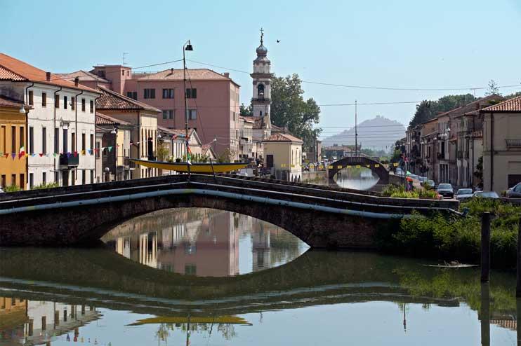 Battaglia Terme (Pd), Veduta dei ponti