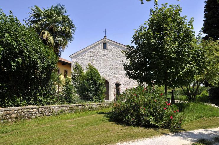 Cappella Maggiore (Tv), Chiesa longobarda della Santissima Trinità.