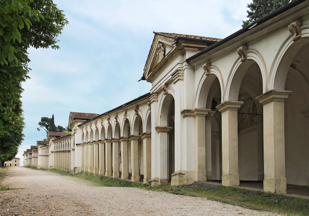 Vicenza, Portici del Santuario della Madonna di Monte Berico.