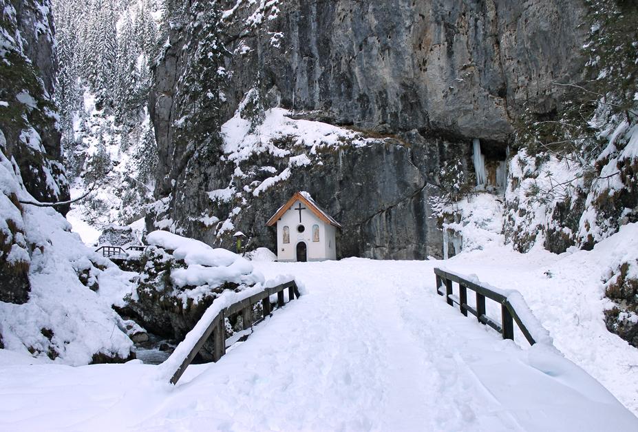 Rocca Pietore (Bl), Serrai di Sottoguda, Chiesetta di Sant'Antonio