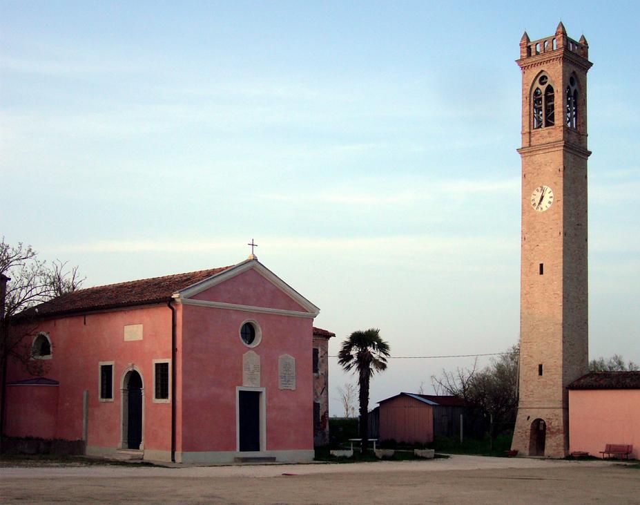 Cavallino-Treporti (Ve), Lio Piccolo, Chiesa Santa Maria della Neve.