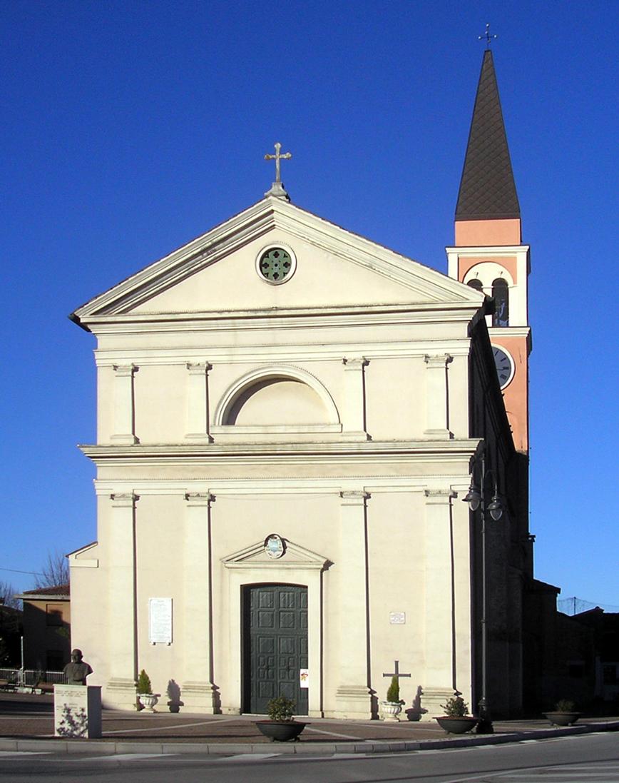 Porto Viro, località Contarina (RO), Chiesa di San Bartolomeo.