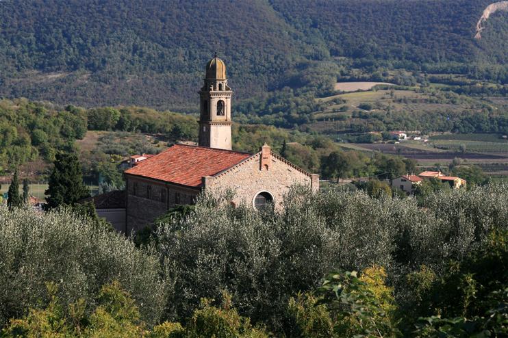 Arquà Petrarca (Pd), Chiesa S. Maria Assunta.