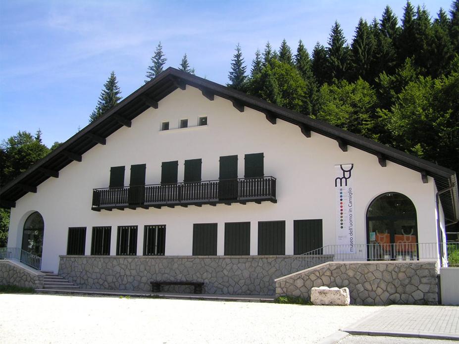 Tambre (Bl), località Pian Osteria, Museo regionale dell