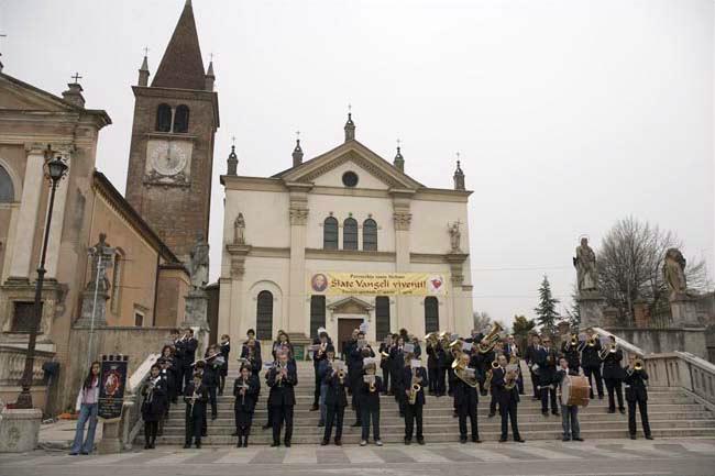 Isola della Scala (Vr), Abbazia di Santo Stefano.