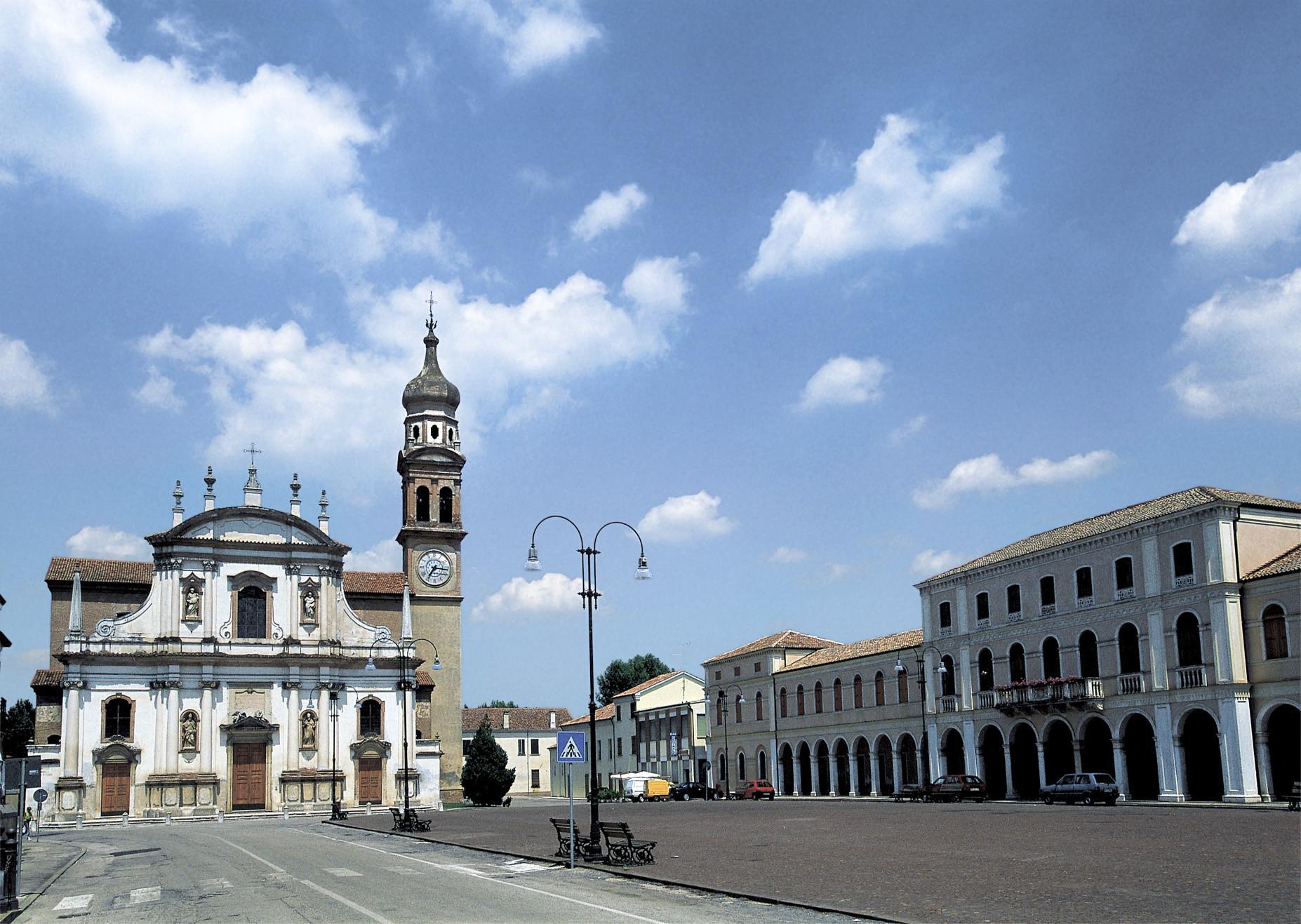 Crespino (Ro), Piazza Fetonte.