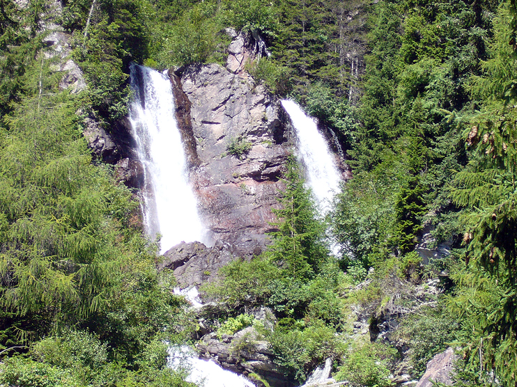 Val Comelico (Bl), Torrente Padola, Cascata del Pissandolo.