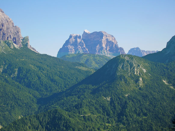 Passo Duran (Bl), Panorama.
