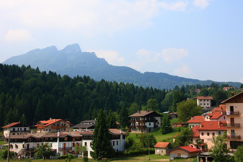 Tonezza del Cimone (Vi), Panorama sul Monte Spitz.
