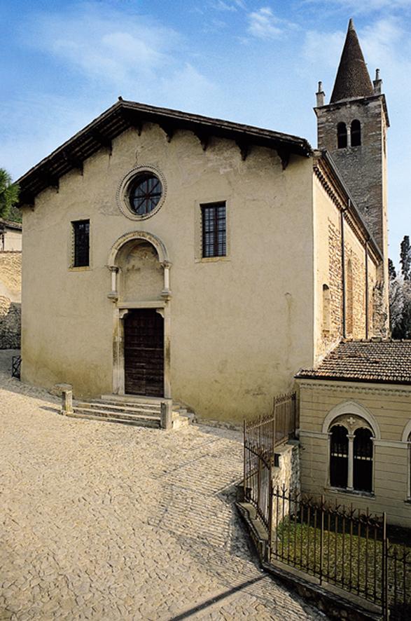 Soave (Vr), Chiesa di Santa Maria di Monte Santo, detta anche dei Padri Domenicani o di Santa Maria di Monte Dragone.
