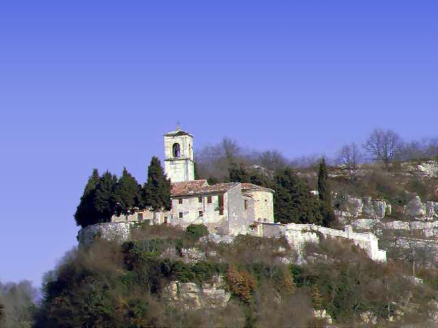 Marano di Valpolicella, frazione di San Rocco (Vr), Santuario di Santa Maria in Valverde.