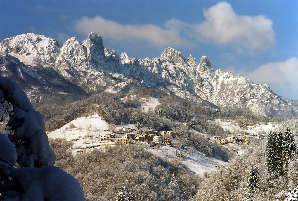 Recoaro Terme (Vi) Paesaggio invernale