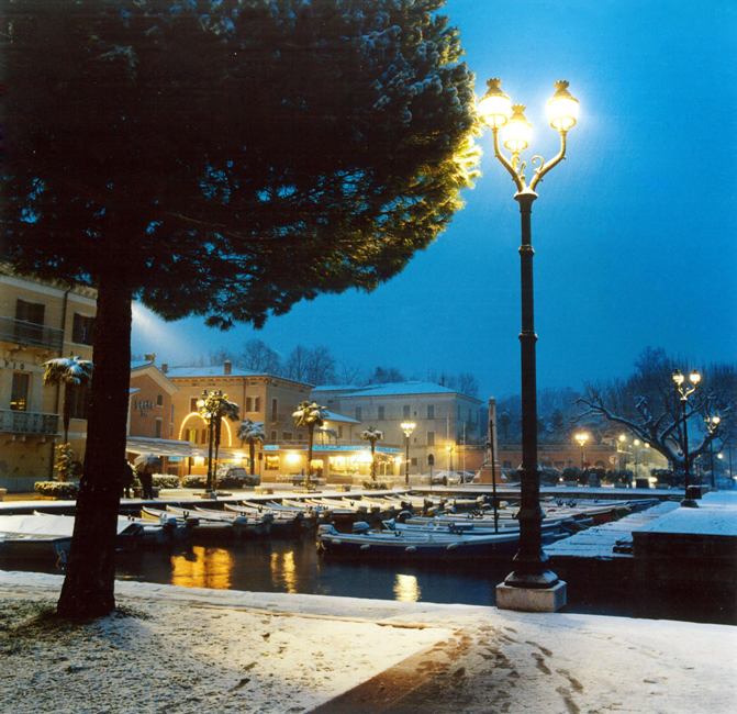 Bardolino (Vr), Veduta invernale.