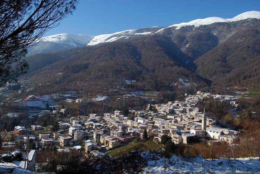 Miane (Tv), frazione di Combai, Panorama dal Colle di Ronch.