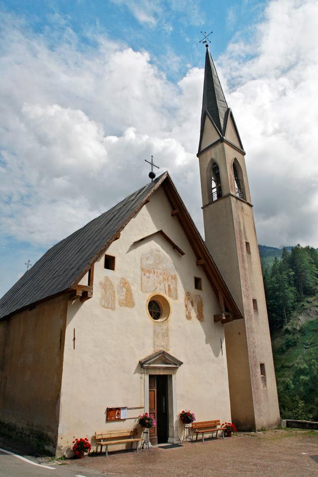 Forno di Zoldo (Bl), Chiesa parrocchiale di Sant'Antonio Abate.