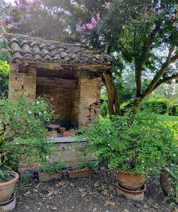Lendinara (Ro), Villa Marchiori dei Cappuccini, Pozzo dei Frati Cappuccini