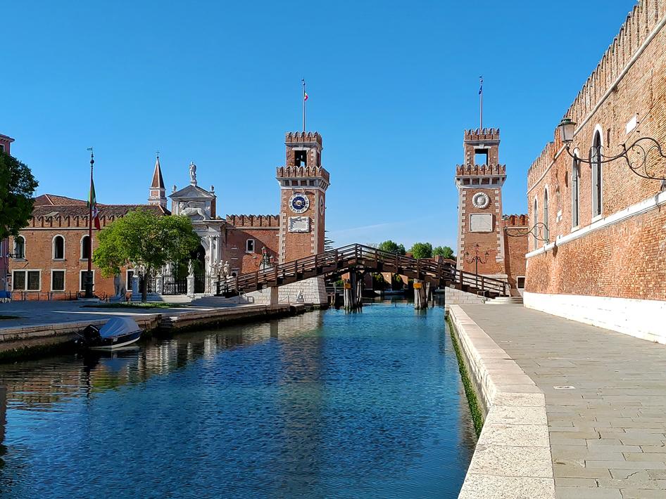 Venezia, Arsenale.