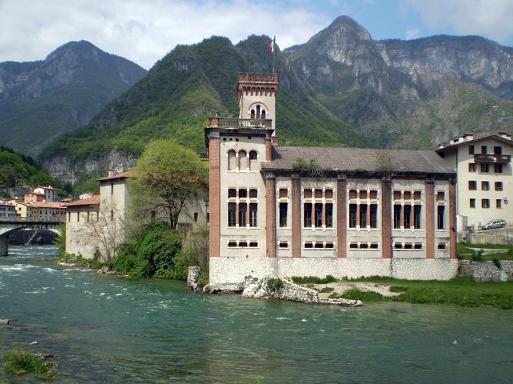 San Nazario, frazione Carpanè (Vi), Centrale idroelettrica Guarnieri.