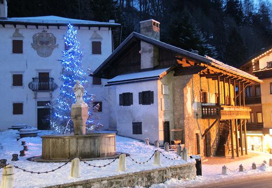 Pieve di Cadore (Bl), Casa natale di Tiziano Vecellio.