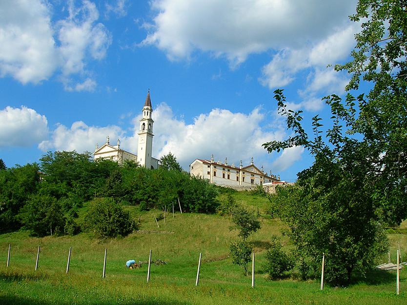 Zugliano (Vi), Villa Giusti Suman e Chiesa parrocchiale di Santa Maria Addolorata e San Zenone.