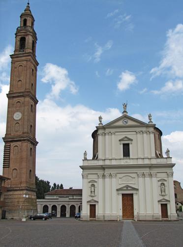 Ficarolo (Ro), Torre campanaria.